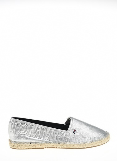 Tommy Hilfiger Espadril Gümüş